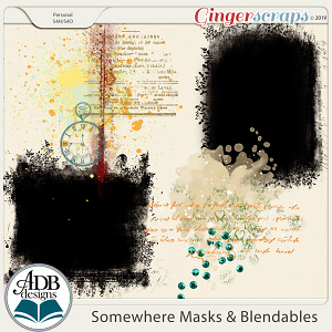 Somewhere Masks & Blendables by ADB Designs