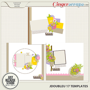 JDoubleU 17 Templates by JB Studio
