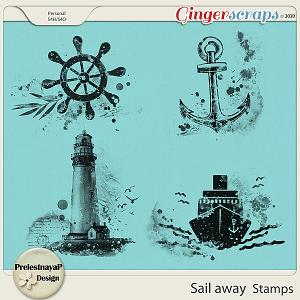 Sail away Stamps