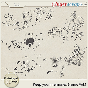 Keep your memories Stamps Vol.1