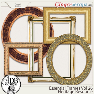 Heritage Resource Essential Frames Vol 26 by ADB Designs