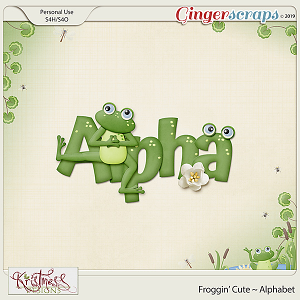 Froggin' Cute Alphabet
