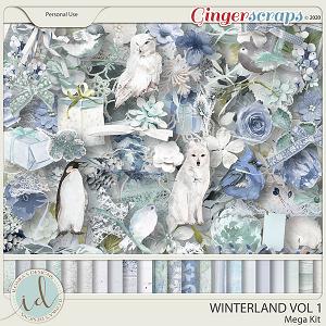 Winterland Mega Kit Vol 1 by Ilonka's Designs