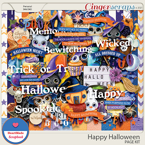 Happy Halloween - kit