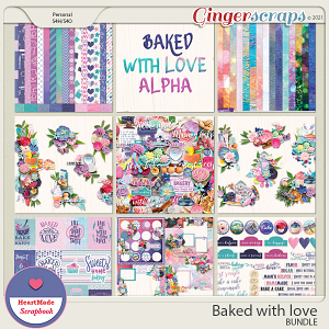 Baked with love - bundle