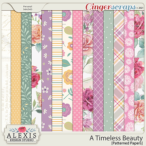 A Timeless Beauty - Patterned Papers