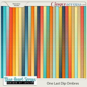 One Last Dip Ombre Papers