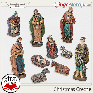 Christmas Creche By ADB Designs