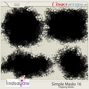 Simple Masks 16 by Lindsay Jane