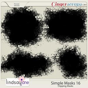 Simple Masks 16 by Lindsay Jane