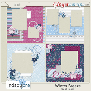 Winter Breeze Quick Pages by Lindsay Jane
