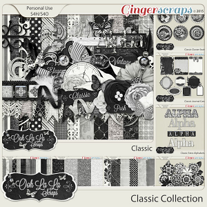 Classic Digital Scrapbook Bundle