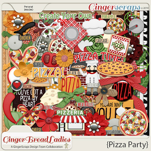 GingerBread Ladies Collab: Pizza Party