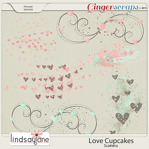 Love Cupcakes Scatterz by Lindsay Jane
