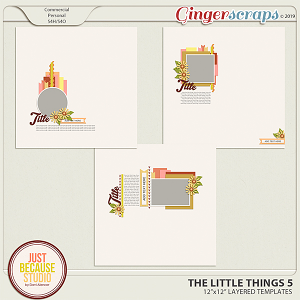 The Little Things 5 Templates by JB Studio