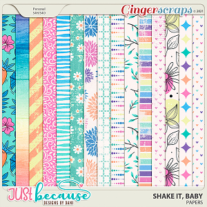 Shake It Baby Papers by JB Studio