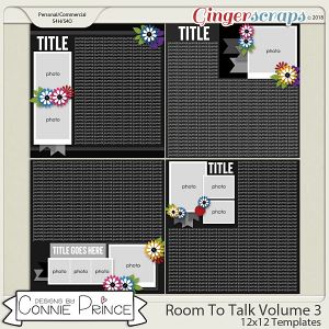 Room To Talk Volume 3 - 12x12 Temps (CU Ok) by Connie Prince