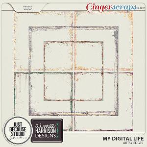 My Digital Life Artsy Edges by JB Studio and Aimee Harrison Designs