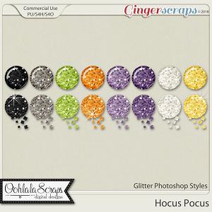 Hocus Pocus CU Glitter Photoshop Styles