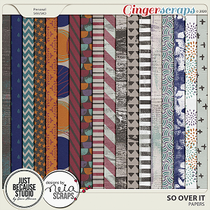 So Over It Papers by JB Studio and Neia Scraps