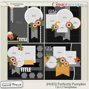 {HUES} Perfectly Pumpkin - 12x12 Temps Vol 1 (CU Ok)