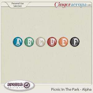 Picnic In The Park - Alpha by Aprilisa Designs