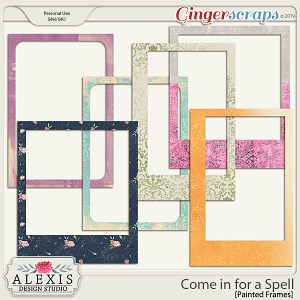 Come in for a Spell - Painted Frames