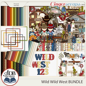 Wild Wild West Bundle by ADB Designs