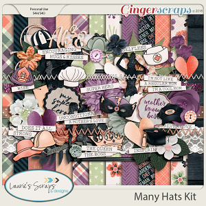 Many Hats Page Kit