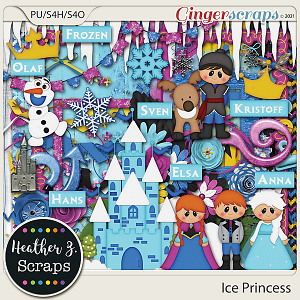 Ice Princess KIT by Heather Z Scraps