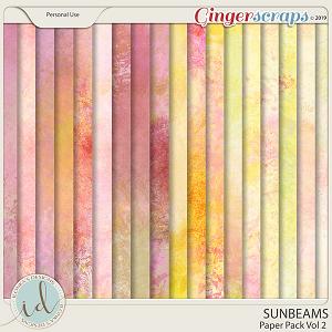 Sunbeams Vol 2 Paper Pack by Ilonka's Designs