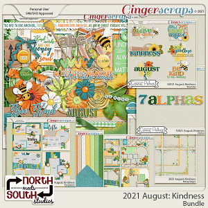 2021 August: Kindness Bundle by North Meets South Studios