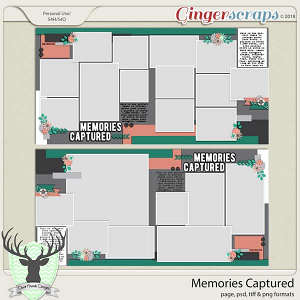 Memories Captured Template by Dear Friends Designs