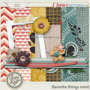 Favorite Things Mini Kit by Chere Kaye Designs
