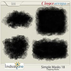 Simple Masks 18 by Lindsay Jane