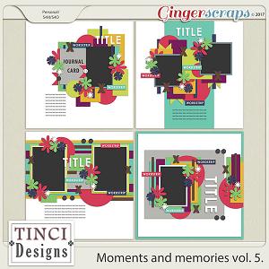 Moments and memories vol. 5.