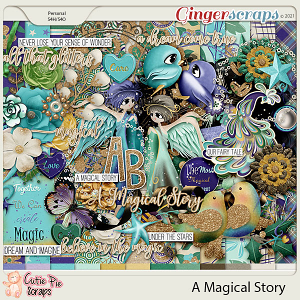 A Magical Story-Page Kit