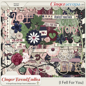 GingerBread Ladies Collab: I Fell For You