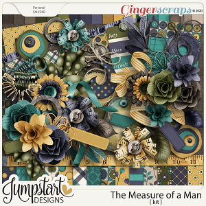The Measure of a Man {Kit} by Jumpstart Designs