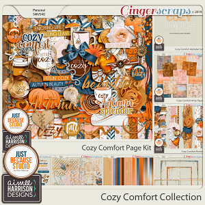 Cozy Comfort Collection by Aimee Harrison and JB Studio