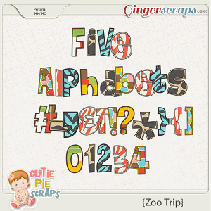 Zoo Trip Alphabets