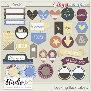 Looking Back Labels