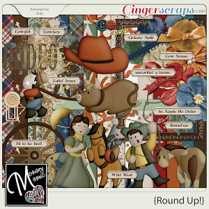 Round Up! by Memory Mosaic