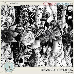 Dreams Of Tomorrow Borders by Ilonka's Designs