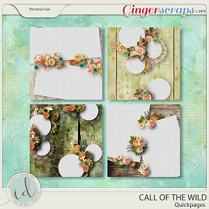 Call Of The Wild Quickpages by Ilonka's Designs