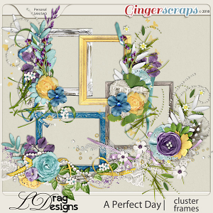 A Perfect Day: Cluster Frames by LDrag Designs