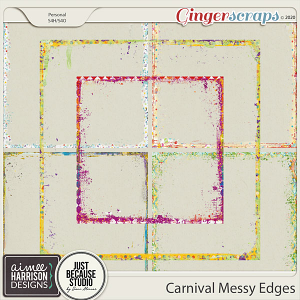 Carnival Messy Edges by Aimee Harrison and JB Studio