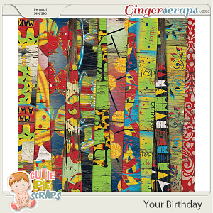 Your Birthday Wood Papers