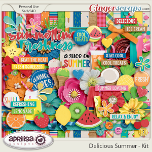 Delicious Summer - Kit by Aprilisa Designs