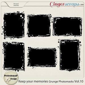 Keep your memories Grunge Photomasks Vol.10